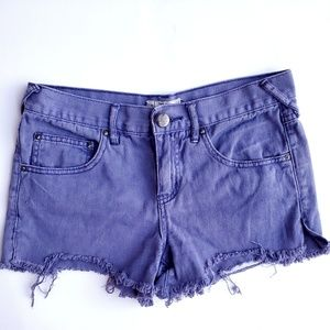 Free People Cutt-Off Shorts